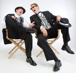 Having a laugh with baritone Jochem Van Ast in Hatstand Opera's 'Lights, Camera... Action!'