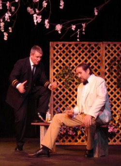 Pinkerton in Puccini's 'Madam Butterfly' for Commedia Productions